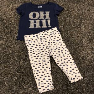 baby GAP 2pc outfit